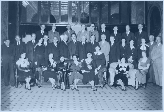 PBK Chapter Meeting, Washington Hotel, Fayetteville, AR December 9, 1932